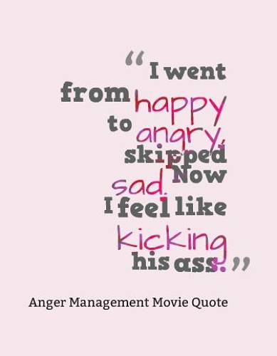 20 Best Anger Management Movie Quotes Goosfraba